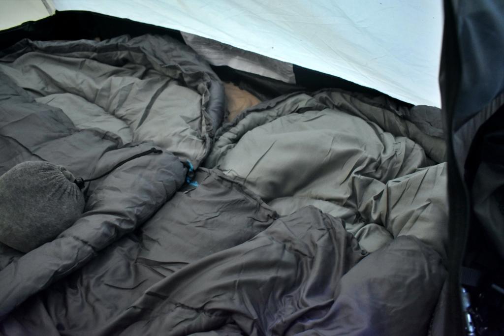 Der Adventuridge Mumienschlafsack im Test