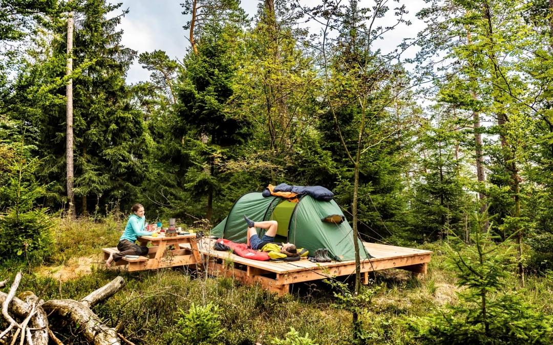 Eifel Trekking Naturlagerplatz