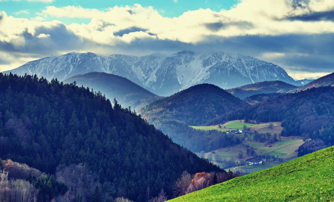 Schneeberg im Fichtelgebirge