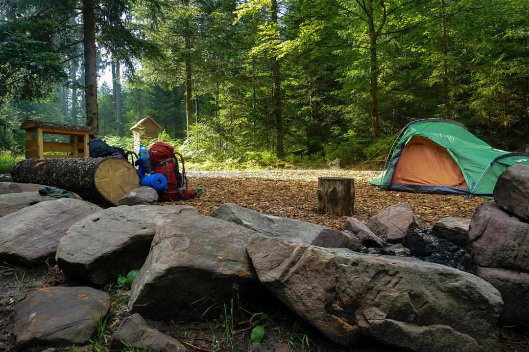 Trekking Camps in Deutschland ©suedkurier